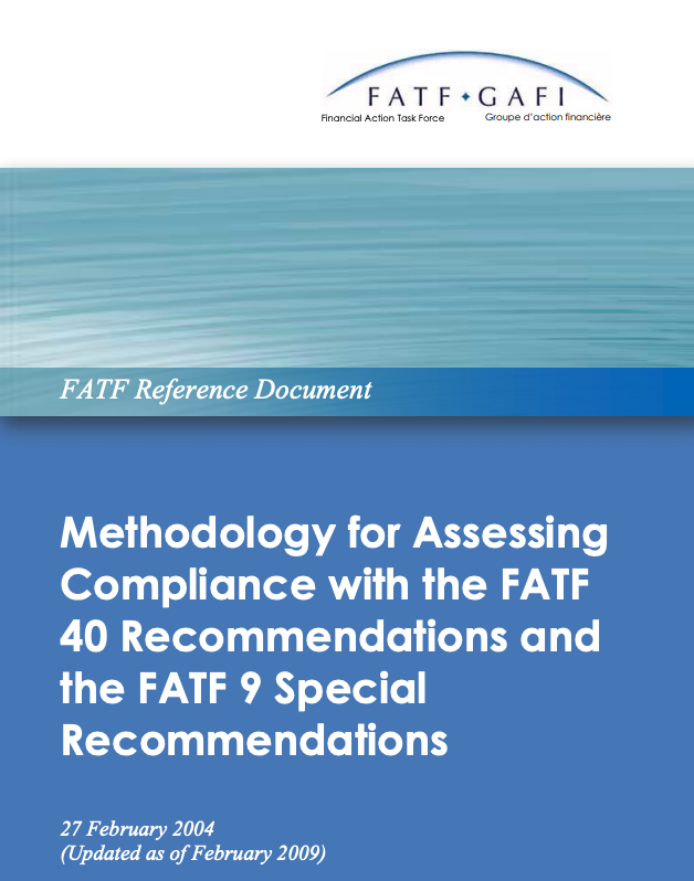 Methodology for Assessing compliance with FATF recommendations