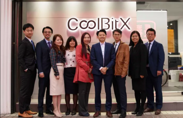 coolbitx celebrate series b funding round